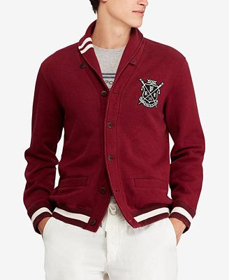 Men's Fleece Cardigan by Polo Ralph Lauren