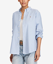 Polo Ralph Lauren Cotton Oxford Big Shirt