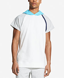 DKNY Men's Colorblocked Hooded Raglan-Sleeve T-Shirt