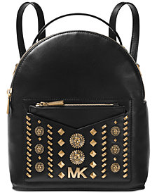 MICHAEL Michael Kors Jessa Studded Convertible Backpack