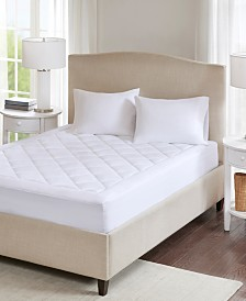 Sleep Philosophy Serenity Full Waterproof Down-Alternative Mattress Pad with 3M Scotchgard™ Moisture Treatment
