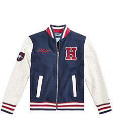 Tommy Hilfiger Big Boys Baseball Varsity Jacket