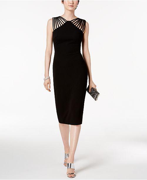 e53148f7ad13 sangria Strappy Sheath Dress   Reviews - Dresses - Women - Macy s