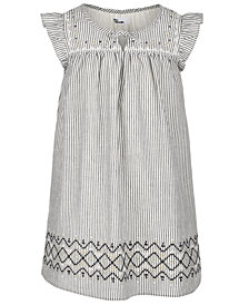 Epic Threads Little Girls Striped Cotton Shift Dress, Created for Macy's