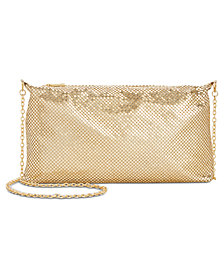 I.N.C. Tahlor Mesh Crossbody Pouch, Created for Macy's