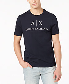 A|X Armani Exchange Men's Logo-Print T-Shirt