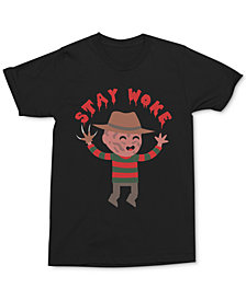 Freddy Krueger Men's Stay Woke T-Shirt by Changes