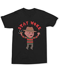 Freddy Krueger Men's Stay Woke T-Shirt by Changes
