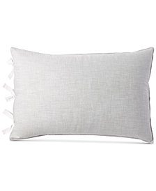 DKNY Pure Eco Cotton 200-Thread Count Reversible Chambray Standard Sham