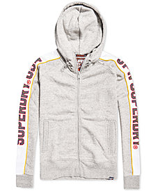Superdry Men's Graphic-Print Zip-Up Hoodie