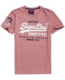 Superdry Men's Premium Goods Duo Logo-Print T-Shirt