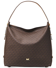 MICHAEL Michael Kors Signature Large Griffin Hobo