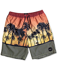 Quiksilver Big Boys Sunset Vibes Swimsuit
