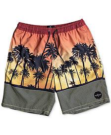 Quiksilver Big Boys Sunset Vibes Swimsuit