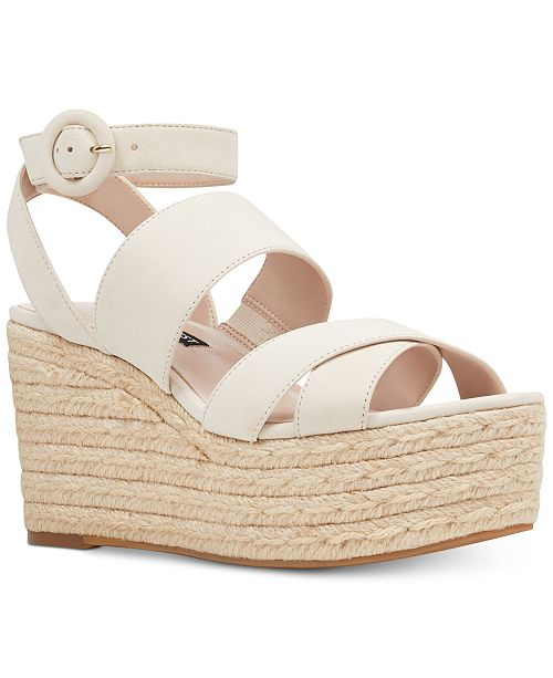 beb71b5eb74 Nine West Kushala Wedge Sandals   Reviews - Sandals   Flip Flops ...