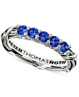 Peter Thomas Roth Blue Sapphire Ring (3/4 ct. t.w.) in Sterling Silver