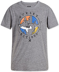 Hurley Big Boys Dri-FIT Graphic-Print T-Shirt