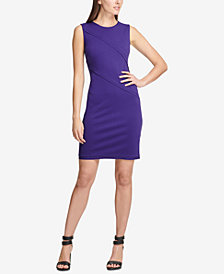 DKNY Ponté-Knit Sheath Dress, Created for Macy's