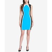 Tommy Hilfiger Colorblocked Scuba Crepe Dress Deals