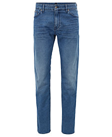 BOSS Men's Regular/Classic-Fit Denim Jeans
