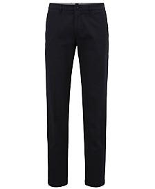 BOSS Men's Regular/Classic-Fit Stretch Pants