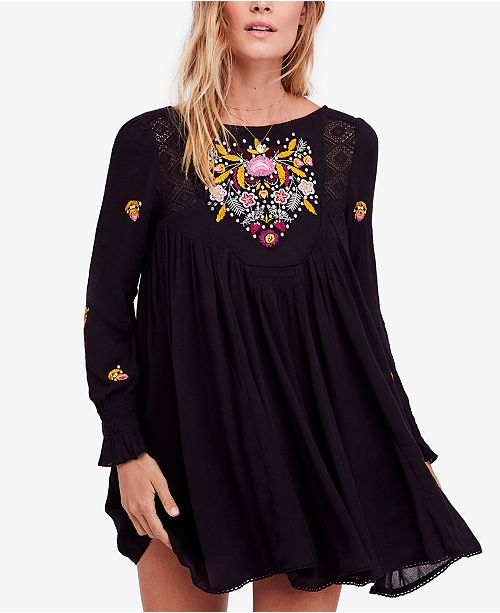 671feb2d87f39 Free People Mohave Embroidered Mini Dress & Reviews - Dresses ...