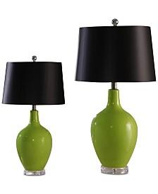 Abbyson Living Set of 2 Sabah Table Lamps