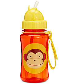 Skip Hop Monkey Zoo Straw Water Bottle