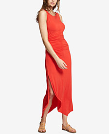 Sanctuary Samba Ruched Handkerchief-Hem Dress