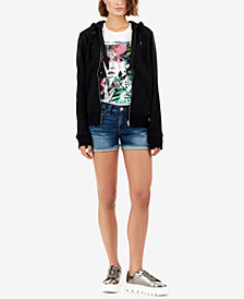 True Religion Jennie Curvy-Fit Denim Shorts
