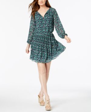 Michael Michael Kors Paisley-Print Dress 6525979