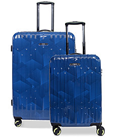 Revo Rain Hardside Expandable Spinner Luggage Collection, Created for Macy's
