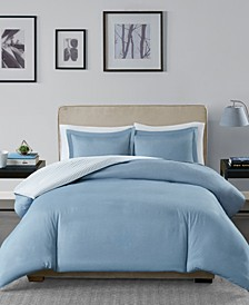 Hayden Reversible 3-Pc. Full/Queen Duvet Cover Set