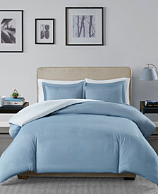 Madison Park Essentials Hayden Reversible 3-Pc. Full/Queen Duvet Cover Set