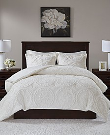 Ava Reversible 3-Pc. Full/Queen Comforter Set