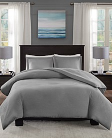 Clay 3-Pc. King/California King Duvet Cover Set