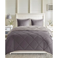 Deals on Madison Park Essentials Larkspur Reversible 3-Pc. Comforter Set