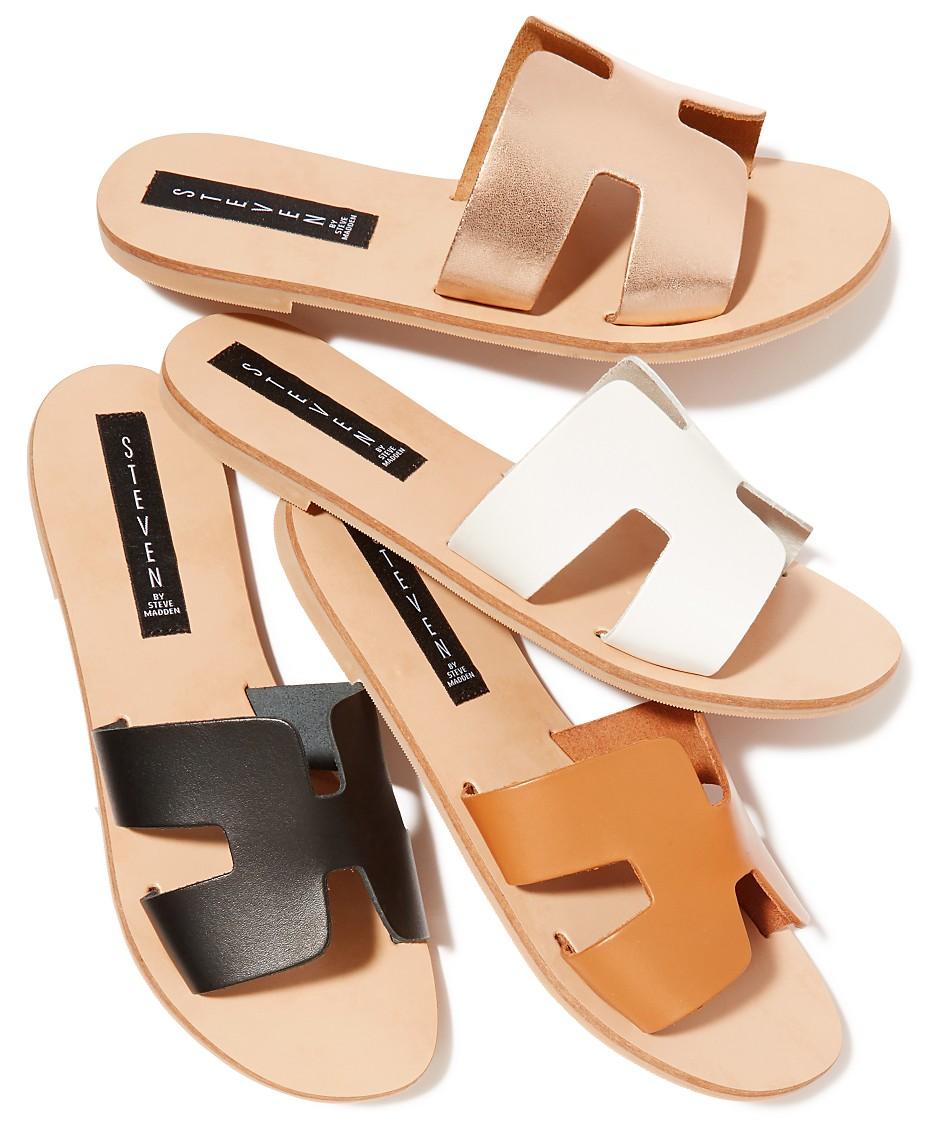 2d34c0511bf STEVEN by Steve Madden Greece Sandals & Reviews - Sandals & Flip ...