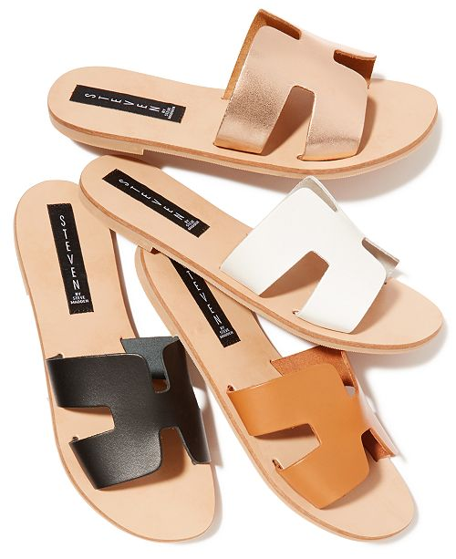b263e0a94bd STEVEN by Steve Madden Greece Sandals & Reviews - Sandals & Flip ...