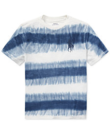 Polo Ralph Lauren Tie-Dye Cotton Jersey T-Shirt, Big Boys