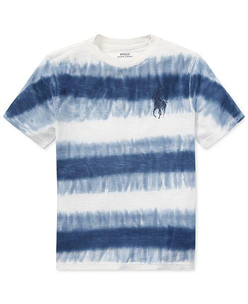 ... Polo Ralph Lauren Tie-Dye Cotton Jersey T-Shirt 9f82a6987e06