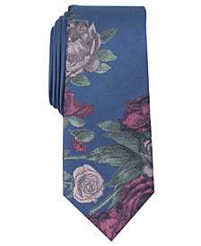 Bar III Men's Seychelle Floral Panel Tie, Created for Macy's