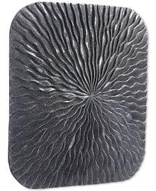 Zuo Square Wave Dark Gray Medium Plaque