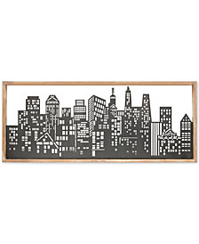 Madison Park Skyline Metal Wall Art