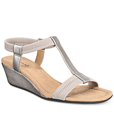 Alfani Women's Voyage Wedge Sandals, Created for Macy's
