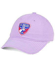 adidas FC Dallas Pink Slouch Cap