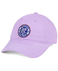 adidas New York City FC Pink Slouch Cap