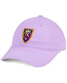 adidas Real Salt Lake Pink Slouch Cap