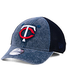New Era Boys' Minnesota Twins Jr Hooge Neo 39THIRTY Cap