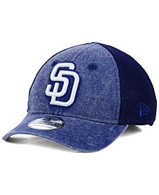 New Era Boys' San Diego Padres Jr Hooge Neo 39THIRTY Cap